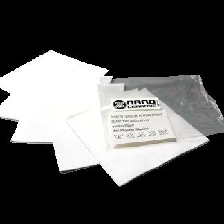 Ściereczki z mikrofibry do aplikacji powłok ceramicznych 10x10 cm, kpl 5 szt
